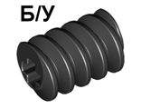 ! Б/У - Technic, Gear Worm Screw, Long, Black (4716 / 471626 / 6037533) - Б/У