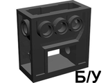 ! Б/У - Technic, Gearbox 2 x 4 x 3 1/3, Black (6588) - Б/У