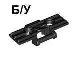 ! Б/У - Technic, Link Tread Wide with Two Pin Holes, Black (57518 / 4513023 / 6014648) - Б/У