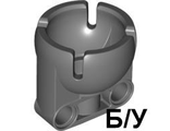 ! Б/У - Technic, Steering Ball Joint Large Receptacle, Dark Bluish Gray (92911 / 4610380) - Б/У