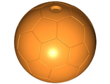 Sports Soccer Ball Plain, Orange (x45 / 6023209)