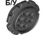 ! Б/У - Technic Tread Sprocket Wheel Large, Black (57519 / 4582792) - Б/У