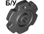 ! Б/У - Technic Tread Sprocket Wheel Small, Black (57520 / 4494519 / 4544527 / 4662228) - Б/У