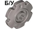 ! Б/У - Technic Tread Sprocket Wheel Small, Pearl Light Gray (57520 / 4544526) - Б/У