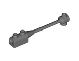 Bar 1 x 8 with Brick 1 x 2 Curved Top End (Axle Holder Inside Small End), Dark Bluish Gray (30359b / 4210815)