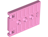 Door 1 x 5 x 3 with 3 Studs and Handle, Bright Pink (93096 / 4599687)