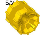 ! Б/У - Technic Tread Hub, Yellow (32007 / 4248957) - Б/У