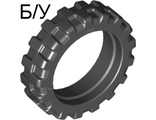 ! Б/У - Tire 21mm D. x 6mm City Motorcycle, Black (50861 / 4244953 / 6064174) - Б/У