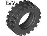! Б/У - Tire 30 x 10.5 Offset Tread - Band Around Center of Tread, Black (56897 / 4545295 / 6043700) - Б/У