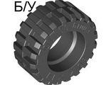 ! Б/У - Tire 30.4 x 14 Offset Tread - Band Around Center of Tread, Black (92402 / 4619323) - Б/У