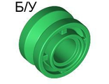 ! Б/У - Wheel 11mm D. x 8mm with Center Groove, Green (42610 / 4566175) - Б/У