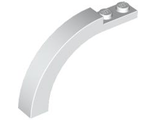 Brick, Arch 1 x 6 x 3 1/3 Curved Top, White (6060 / 4143244 / 4507168 / 6077803 / 6185956)
