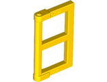 Pane for Window 1 x 2 x 3 with Thick Corner Tabs, Yellow (60608 / 4528136 / 6171059)