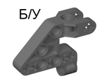 ! Б/У - Bionicle Rahkshi Torso Lower Section, Dark Bluish Gray (44135 / 4210938) - Б/У