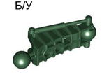 ! Б/У - Bionicle Toa Metru Leg Lower Section, Dark Green (47297 / 4278476 / 4501150) - Б/У