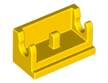 Hinge Brick 1 x 2 Base, Yellow (3937 / 393724)