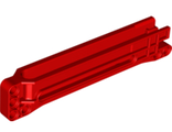 Technic, Gear Rack 1 x 14 x 2 Housing, Red (18940 / 6114965)