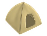 Duplo Cloth Tent 2, Tan (duptent2 / 4649326)