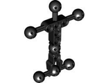 Hero Factory Torso, Small with Ball Joints, Black (90626 / 4589953)