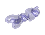 Hero Factory Arm / Leg with Ball Joint and Ball Socket, Trans-Purple (90617 / 6102836)